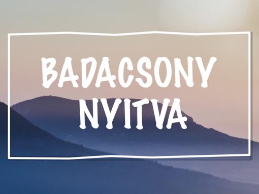 Badacsony Nyitva